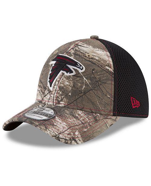 3ca2762dc24b3 ... New Era Atlanta Falcons Realtree Camo Team Color Neo 39THIRTY Cap ...