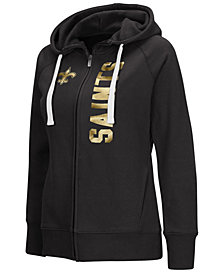 G-III Sports Women's New Orleans Saints 1st Down Hoodie