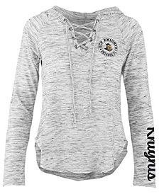 Pressbox Women's University of Central Florida Knights Spacedye Lace Up Long Sleeve T-Shirt