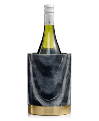 Marble Wine Chiller With Gold-Tone Steel Base, Created For Macy's