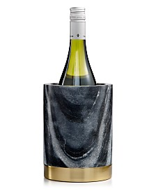 Hotel Collection Marble Wine Chiller With Gold-Tone Steel Base, Created For Macy's