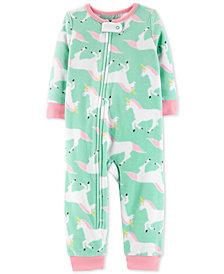 Carter's Toddler Girls Unicorn-Print Pajamas