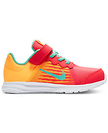 Nike Little Girls' Downshifter 8 Fade Running Sneakers from Finish Line