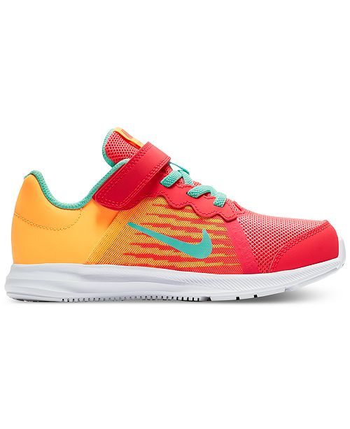 ... Nike Little Girls  Downshifter 8 Fade Running Sneakers from Finish ... 96094a4b062