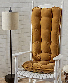 Cherokee Solid Jumbo Rocking Chair Cushion