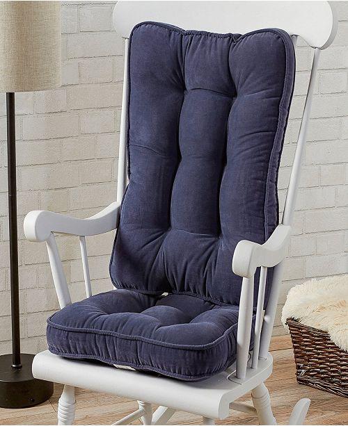 Magnificent Hyatt Fabric Standard Rocking Chair Cushion Short Links Chair Design For Home Short Linksinfo
