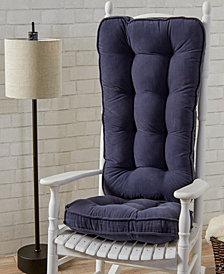 Hyatt fabric Jumbo Rocking Chair Cushion Set