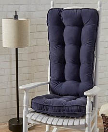 Hyatt fabric Jumbo Rocking Chair Cushion Set
