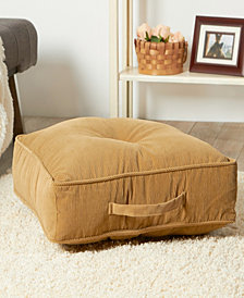 Omaha and Amigo Fabric Square Floor Pillow