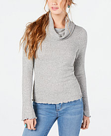 American Rag Juniors' Cowl-Neck Top, Created for Macy's