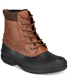 8b548513c044 Tommy Hilfiger Men s Casey Waterproof Duck Boots Created for Macy s ...