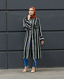 Verona Collection Striped Shirtdress