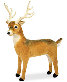 Melissa & Doug Plush Lifelike Giant Deer