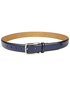 Club Room Men's Textured Casual Belt, Created for Macy's