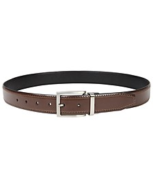 Men's Reversible Stretch Belt, Created for Macy's