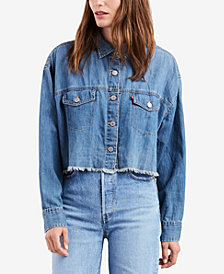 Levi's® Raw-Hem Denim Shirt