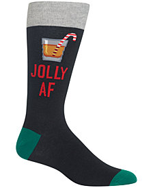 Hot Sox Men's Jolly Socks