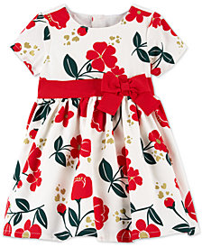Carter's Baby Girls Floral-Print Dress