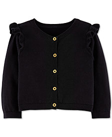 Carter's Baby Girls Ruffle Cotton Cardigan