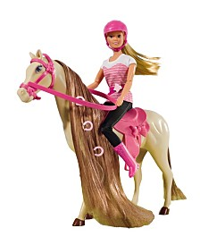 Simba Toys - Steffi Love Riding Tour With Horse And Doll