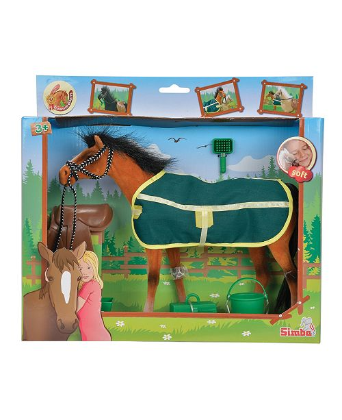 Simba Toys - Champion Brown Beauty Horse With Accessories