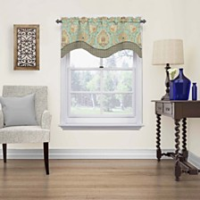 Waverly Clifton Hall Scalloped Window Valance