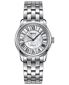 Women's Swiss Automatic Belluna II Stainless Steel Bracelet Watch 33mm