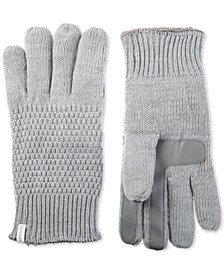 Isotoner Women's Textured Touchscreen Gloves