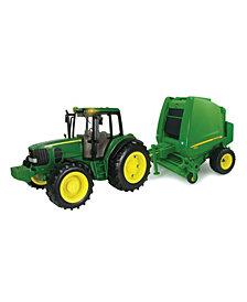 Tomy - Ertl John Deere Big Farm Tractor And Baler