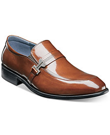 Stacy Adams Men's Jonas Moc-Toe Ornament Slip-Ons