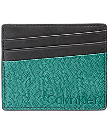 Calvin Klein Men's Colorblocked Card Case