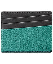 Calvin Klein Men's Colorblocked Card Case
