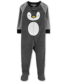Carter's Baby Boys Fleece Penguin Pajamas