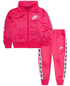 Nike Baby Girls 2-Pc. Track Jacket & Jogger Pants Set