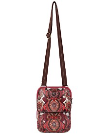 Sakroots Wynnie Nylon Flap Messenger Crossbody