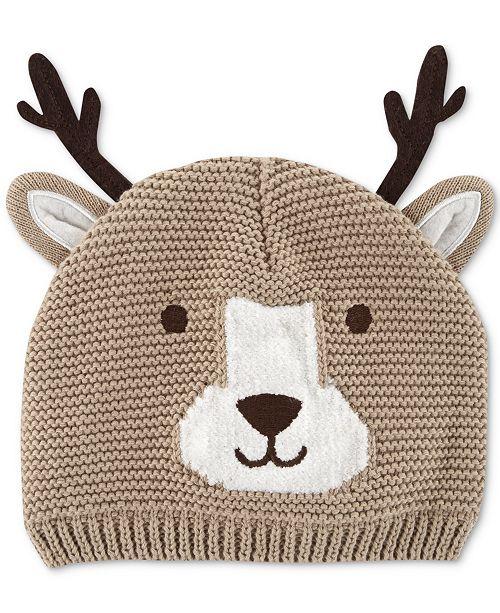 2377b2a50ff18 Carter s Baby Boys Reindeer Hat   Reviews - All Kids  Accessories ...