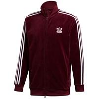 Deals on Adidas Mens Originals Adicolor Velour Track Jacket