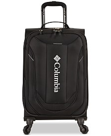 "Columbia Cabin Lake Collegiate Navy 21"" Lightweight Spinner Suitcase"
