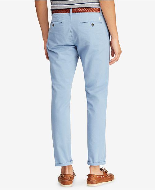 ac945d0b9 Polo Ralph Lauren Men's Slim-Fit Bedford Chino Pants & Reviews ...
