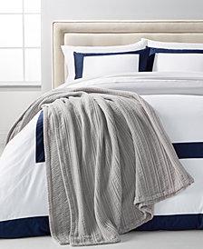 Charter Club Damask Designs Cotton Bed Blanket