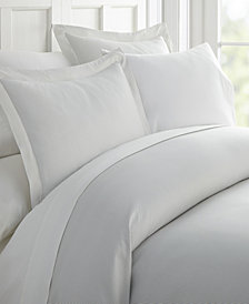 Home Collection Premium Ultra Soft Pinstriped Pattern 3 Piece Duvet Cover Set