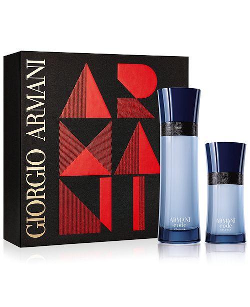 6e65fdf70298 Giorgio Armani Men s 2-Pc. Armani Code Colonia Gift Set - All ...