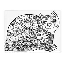 Oxana Ziaka 'Happy Birthday 3' Canvas Art Collection