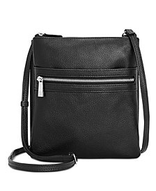 Giani Bernini Triple-Zip Dasher Crossbody, Created for Macy's