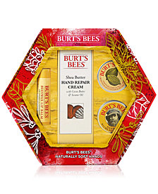 Burt's Bees 4-Pc. Naturally Soft Hands Holiday Gift Set