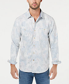 Tommy Bahama Men's Beachy Palms Flannel Shirt