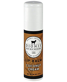 Lip Balm, Coconut Cream