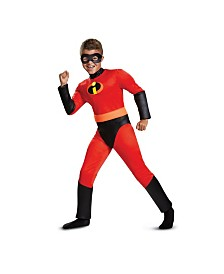 Incredibles 2 Dash Classic Muscle Little and Big Boys Costume