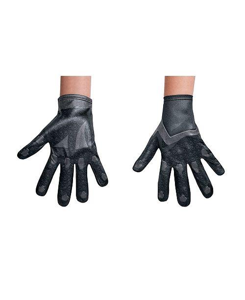 BuySeasons Power Rangers Black Ranger Big Boys Gloves