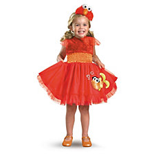 Sesame Street Frilly Elmo Little Girls Costume